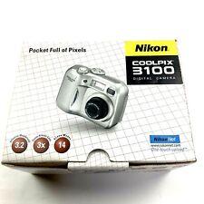 Nikon Coolpix 3100 3.2MP Digital Camera 3x Optical E3100