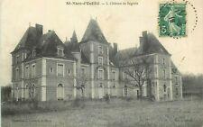 SAINT MARS D'OUTILLE chateau de segrtats