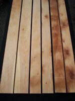 6 x CELERY TOP PINE Boards