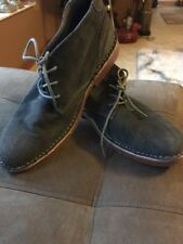 MENS 10 Shoes Suede Boots Gray Ks2 Ankle Desert SHOES Perfect CLASSIC