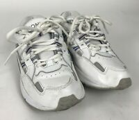 Vionic Walker Womens Athletic Walking Comfort Shoes White Lace Up Size 7