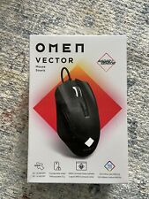 New Omen Vector Wired Gaming Mouse Radar Sensor Black Factory Sealed Hp