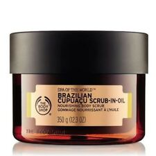 The Body Shop Brazilian Cupuacu Scrub-In-Oil Nourishing Body Scrub 12.3 oz NEW