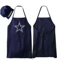 Dallas Cowboys NFL Barbecue Tailgating Apron & Chef's Hat
