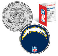 SAN DIEGO CHARGERS  NFL JFK Kennedy Half Dollar US Coin  *Officially Licensed*