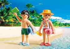 PLAYMOBIL #5165 BEACHGOERS SWIMMERS DUO PACK SET BRAND NEW