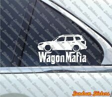 Lowered WAGON MAFIA sticker - for Subaru Forester (SH 2008-2013) jdm
