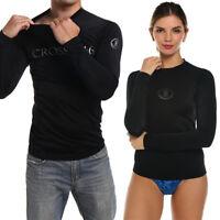 3XL US Mens Swimsuit Long Sleeve SPF40+ Swimming Surfing Swim Suit Swimwear AP