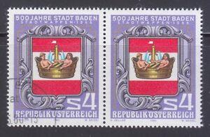 Austria 1980 MNH & CTO NH Mi 1631 Sc 1142 Arms of Baden