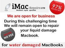 Macbook Pro Water Damage / Faulty Repair Service