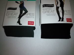 Great Shapes No Nonsense Women's Tights Opaque 40 Denier Black, Charcoal S M