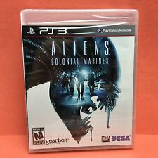 ALIENS Colonial Marines (PlayStation 3 PS3/2013) SEGA/Gearbox NEW/Sealed!