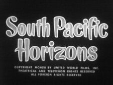 VERY RARE Castle 16mm Travel Film  SOUTH PACIFIC HORIZONS Sound Movie THAILAND