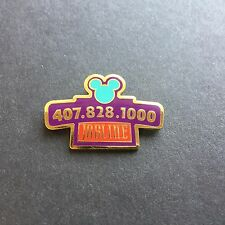 WDW - Cast Jobline Job Line Phone Number Disney Pin 5040