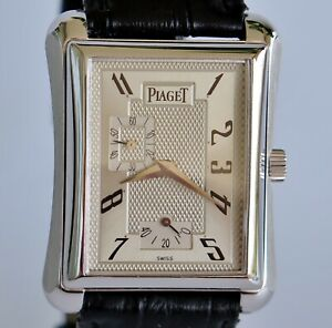 PIAGET Emperador Automatic 18900 Solid white gold 18k, Mens, Excellent condition