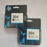 HP 304 Combo Schwarz + Tricolor Originale Druckerpatronen für Deskjet 3720 3730