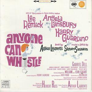 ANYONE CAN WHISTLE  Stephen Sondheim musical cd