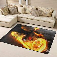 Marvel Ghost Rider Area Rug Living Room Bedroom Decoration Floor Mat Carpet