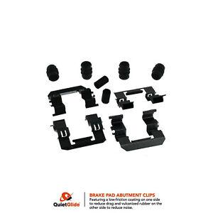 Frt Disc Brake Hardware Kit 13417Q Carquest