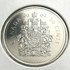 2000 Canada 50 Cents Half Dollar Specimen Uncirculated Canadian Coin N371