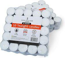 Tea Lights 8 Hour Long Burn Night Light Candles Unscented Tealights 50 /100 /400