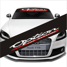 Car Reflective Front Windshield Window Banner Decal Sticker for Option MAGAZINE