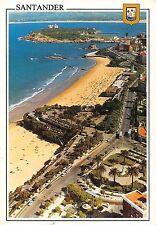 Spain Santander Cantabria Playas del Sardinero Vista aerea Beach Air view