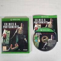 Crimes & Punishments Sherlock Holmes -- Microsoft Xbox One -- UK Seller --