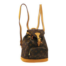LOUIS VUITTON MINI MONTSOURIS BACKPACK HAND BAG MONOGRAM M51137 SP0939 O02986