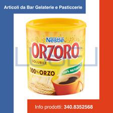 GR 120 ORZO NATURALE SOLUBILE ORZORO NESTLE' INSTANT BARLEY COFFEE IN DISPENSER