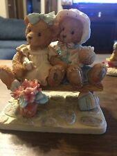 "Cherished Teddies ~ Tracie and Nicole ~ ""Side by Side with Friends"" 911372"