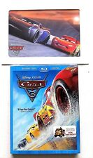 Disney / Pixar Cars 3 (Blu-ray +DVD +Digital; 2017) NEW w/ Embossed Slipcover