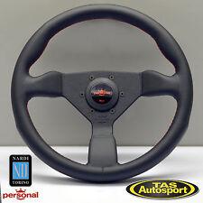 Nardi Personal GRINTA Steering Wheel Black Leather Red Stitch 330mm 6430.33.2096