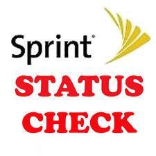 FAST US SPRINT IPHONE 4s 5 5c 5s 6 6 plus 6s 7 BLOCKED UNPAYED STATUS CHECK