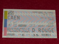 [COLLECTION SPORT FOOTBALL] TICKET PSG / CAEN 16 AOUT 1996 Champ. France