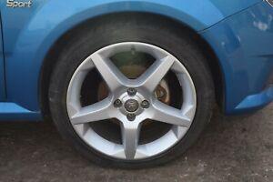 2005 VAUXHALL TIGRA / ASTRA H SET OF 17 INCH 5 SPOKE ALLOY WHEELS WITH TYRES