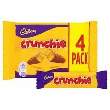 Cadbury Crunchie Chocolate Bar 26.1g - 4 Pack 104.4g