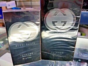 Gucci Guilty INTENSE Pour Homme EDT Spray Men 1.6 oz 50 ml or 3 oz 90 ml SEALED