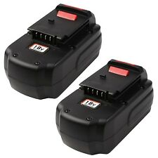 Enegitech 2 Pack 3.0Ah Battery For Porter Cable 18V PC18B-2 Cordless Power To...