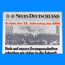 DDR Neues Deutschland November 1977 Geburtstag Hochzeit 37. 38. 39. 40. 41. SED