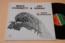 MIKE CORBETT JAY HIRISH LP PROG FOLK 1°ST ORIG ITALY 1971 GATEFOLD TEXTURED NM