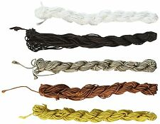 Chinese Knotting Beading Cord Mixed Approx 1.5mm 5 (12 Yard Skeins), NEW