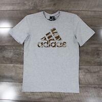 Adidas Badge Of Sport Foil Camo T-Shirt DI0313 In Grey RRP £22