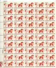 U.S. Sheet Of 50 Scott#1772 1979 15ct Year Of The Child Mnh Var P#'s Below Face