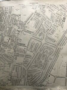 Enfield O/S map 1940 revision... scale 25.344 inches to a statute mile