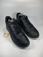 Nike Air Force 1 Black Gold Size 11 UK 46 EUR