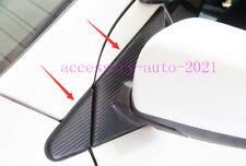 For Mitsubishi Lancer Evo 2009-2012 Carbon Fiber Front Door A Pillar Stickers (Fits: Mitsubishi Lancer)