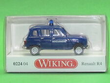 1:87 Wiking 022404 Gendarmerie - Renault R4 Blitzversand per DHL-Paket