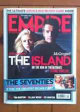 Empire September 2005 Michael Bay's The Island Scarlett Johansson/Ewan McGregor