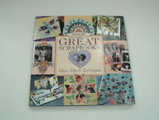2000 Memory Makers Great Scrapbooks hardback book